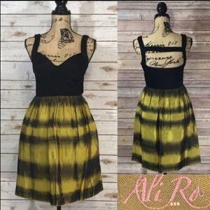 Ali Ro Sleeveless Dress Cutout Tie Dye Size 2